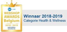 Webshop awards Belgium winner 2018 category health and wellness