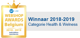 Webshop awards Belgium winner 2017 category health and wellness