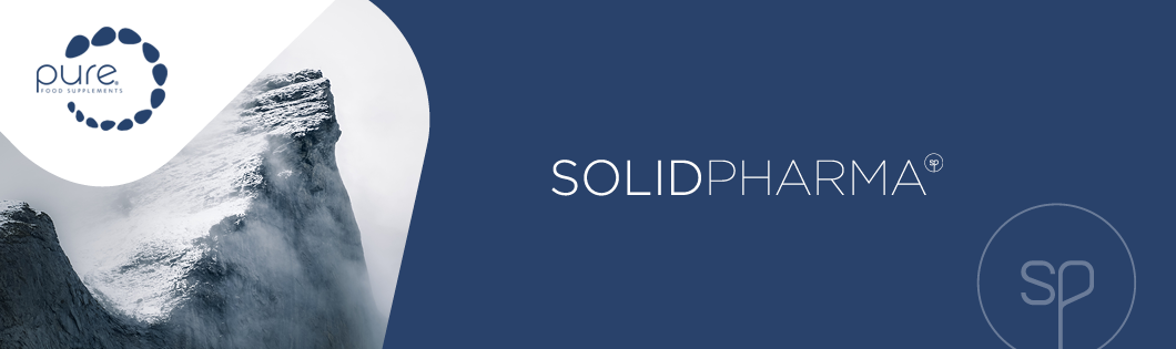 PURE by SolidPharma banner