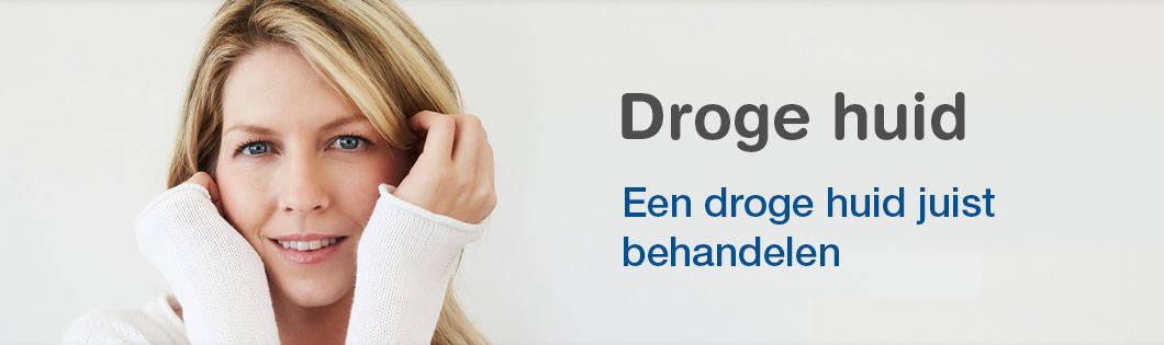 Droge huid banner