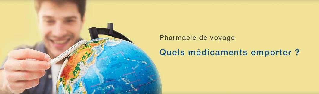 Pharmacie de voyage banner