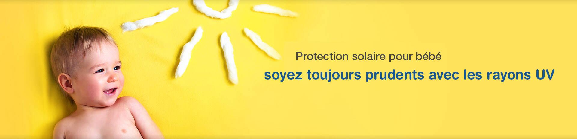 Protection solaire pour bébé banner