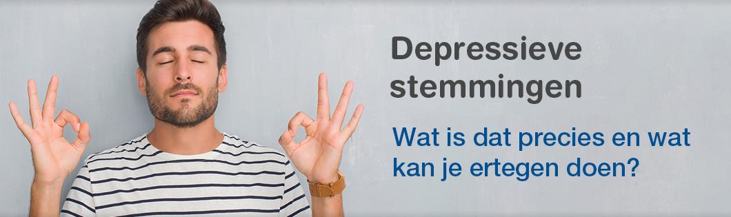 Depressieve stemmingen banner