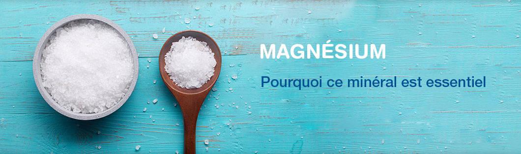 Magnésium banner