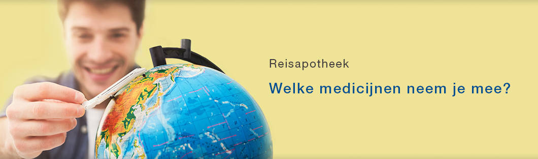 Reisapotheek banner