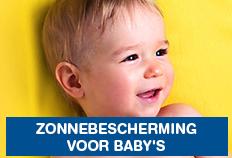 Zonnebscherming voor baby's