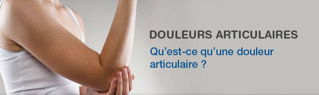 Douleurs articulaires banner